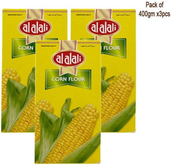 Alali Corn Flour 400gm x 3 Nos