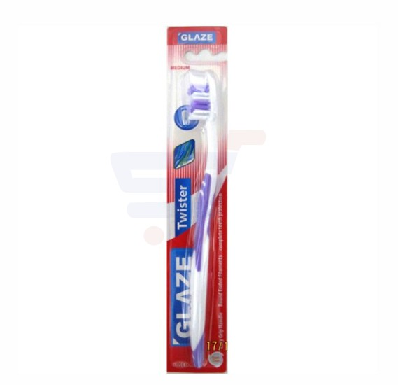 Glaze Toothbrush Twister Single Pack Hard