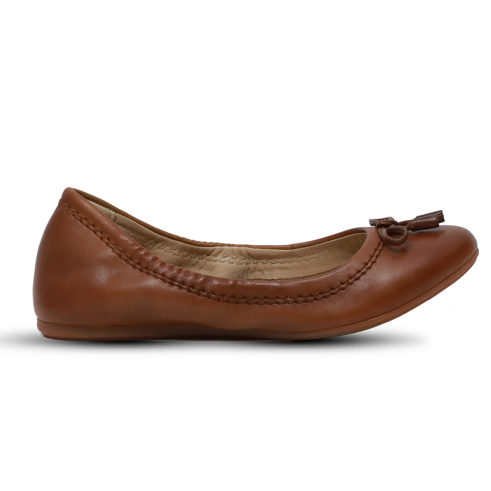 Hush Puppies Ladies Formals Shoes Tosa Tan Leather, HW06056-236