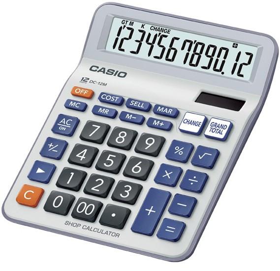 Casio DC-12M Calculator