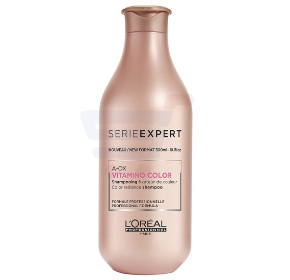 Loreal Serie Expert A-Ox Vitamino Color Radiance Shampoo 300ML