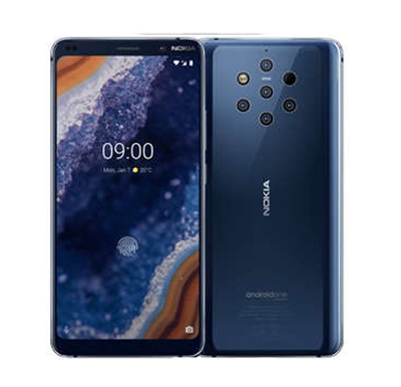 Nokia 9 Smartphone 128GB Storage 4G Dual Sim Midnight Blue