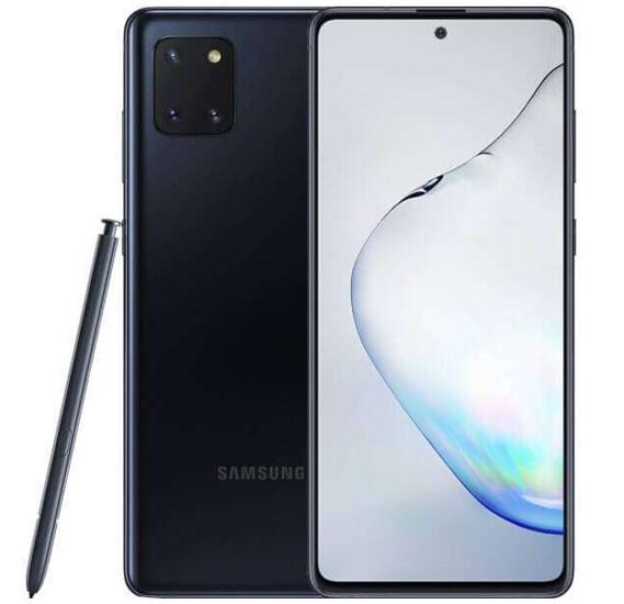 Samsung Galaxy Note10 Lite Dual Sim 8GB RAM 128GB 4G LTE, Aura Black
