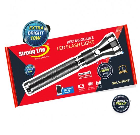 Strong Lite SRL5010WP Waterproof Led Flash Light 5000 Mah