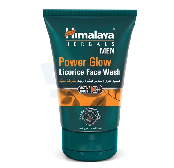 Himalaya MEN Power Glow Licorice Face Wash 100 ML - NHS0352