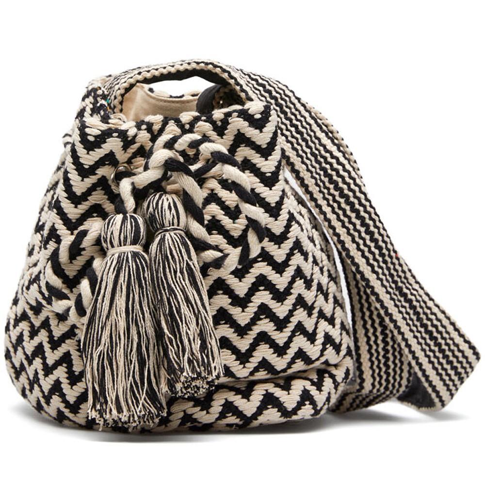 Springfield Fashion Womens Bag, Dual Tone, Black&White