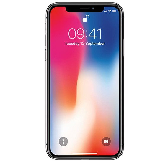 Apple iphone X Smartphone, iOS11, 5.8 Inch HD Display, 3GB RAM, 256GB Storage, Dual Camera, Wifi- Space Gray With Facetime
