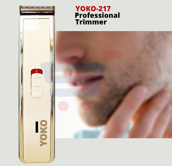 Yoko 217 Rechargeable Hair And Beard Professional Trimmer