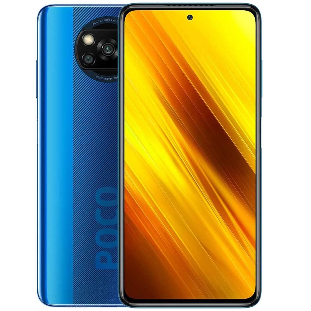 Xiaomi Poco X3 Dual SIM 6GB RAM 128GB Storage, 4G LTE, Cobalt Blue