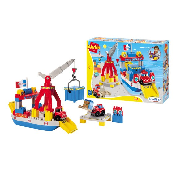 Ecoiffier - Abrick Ferry Boat Play Set,  3030