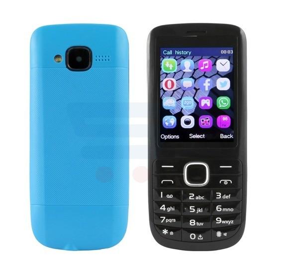 ODSCN C3 Mobile Phone, 1.77 Inch Display, Dual SIM, Camera - Blue