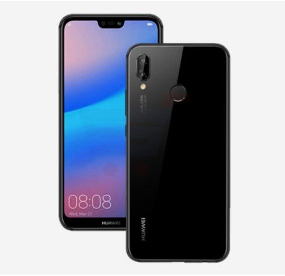 Huawei Nova 3e 4G Smartphone, 5.84 Inch Display, 4GB RAM, 64GB Storage, Dual Camera, Wifi, Android OS - Midnight Black