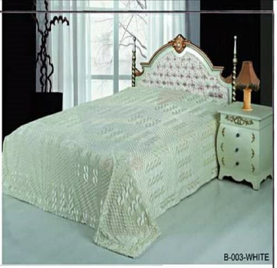 Senoures Classic Blanket Double 220X240CM - B-003 White
