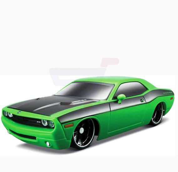 Maisto Tech R/C 1:24 Dodge Challenger Concept Green - 81063