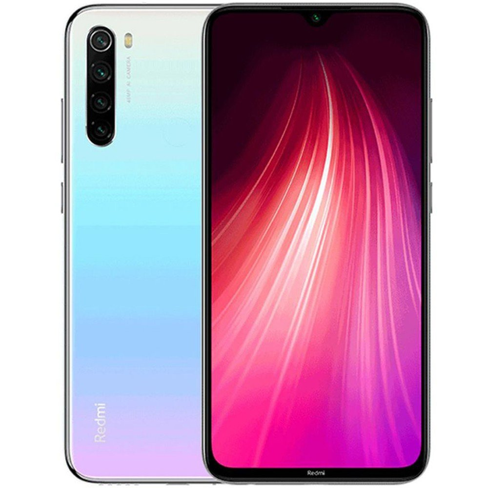 Xiaomi Redmi Note 8 Dual SIM 4GB RAM 128GB Storage 4G LTE, Moonlight White