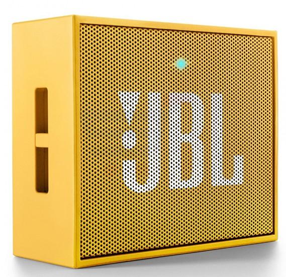 JBL GO Portable Wireless Bluetooth Speaker- Yellow