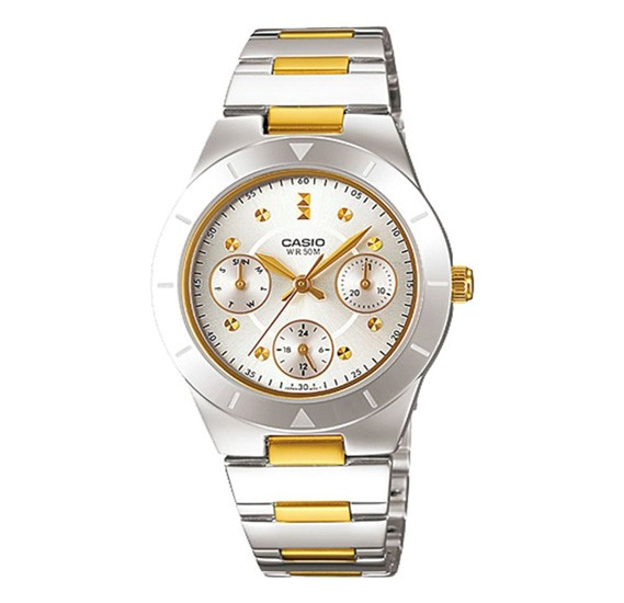 Casio LTP 2083SG 7AVDF A530 Enticer Ladies Multi Dial Multi Dial Womens Watch