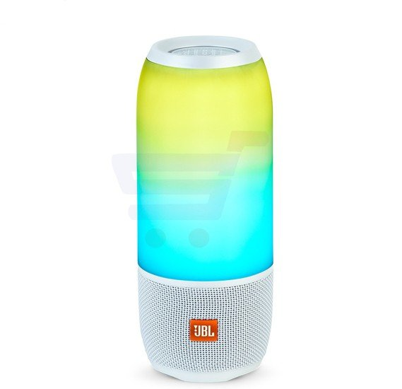JBL Pulse 3 Wireless Bluetooth IPX7 Waterproof Speaker White