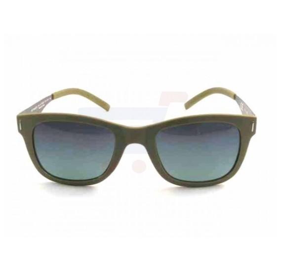 Police Oval Black Frame & Grey Mirrored Sunglasses For Men - SPL170-G74P