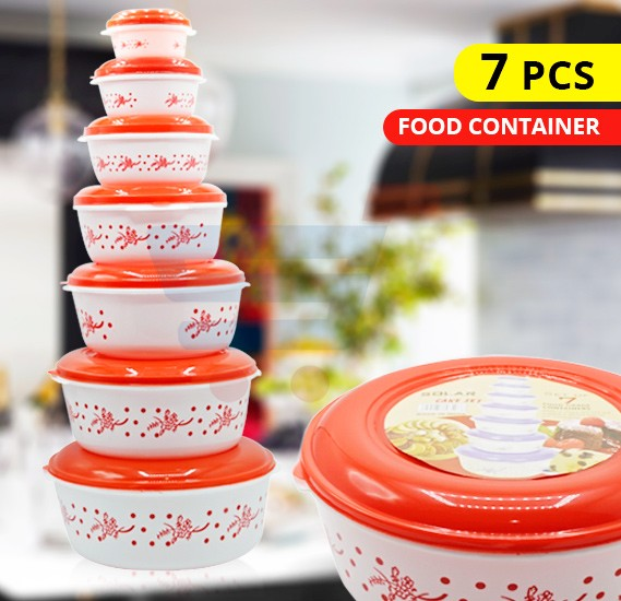 Solar 7 set Plastic Food Container