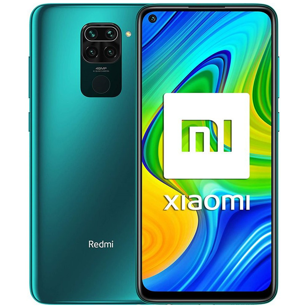 Xiaomi Redmi Note 9 Dual Sim 4GB RAM 128GB 4G LTE-Forest Green