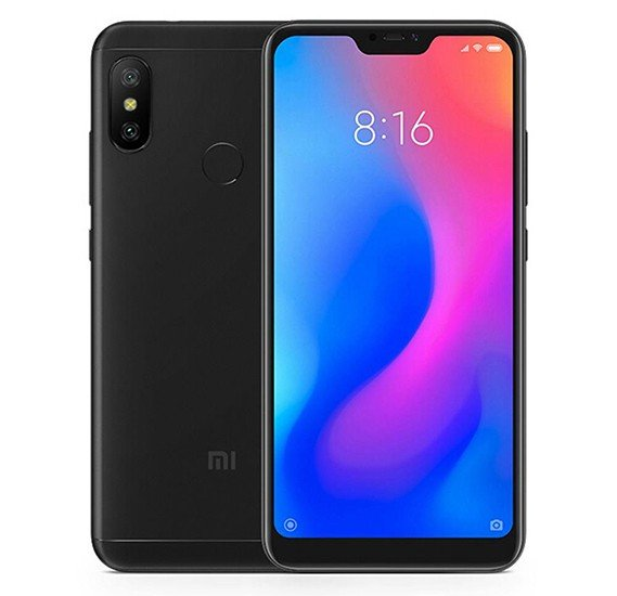 Xiaomi Mi A2 Lite Dual SIM 128GB 6GB RAM 4G LTE Black Global Version