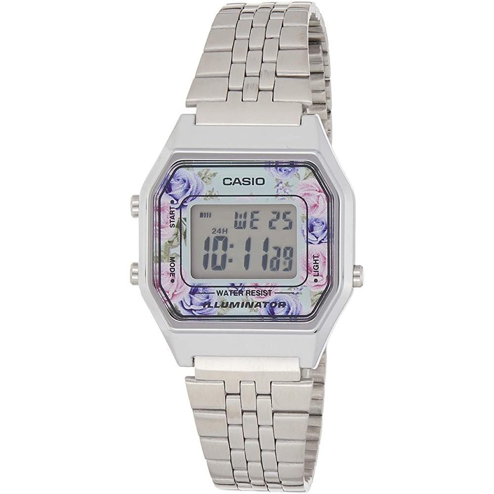 Casio Stainless Steel Womens Watch Digital, LA680WA-2CDF