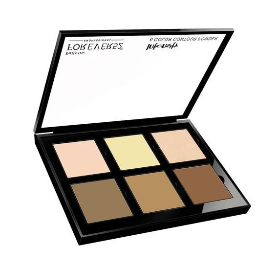 Forever52 SCP002 Set Of 6 Color Contour Powder