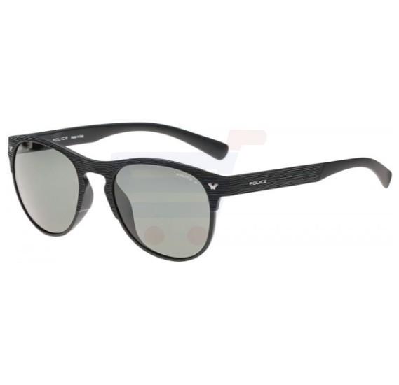 Police Aviator Black Frame & Green Mirrored Sunglasses For Men - S1949-U28P