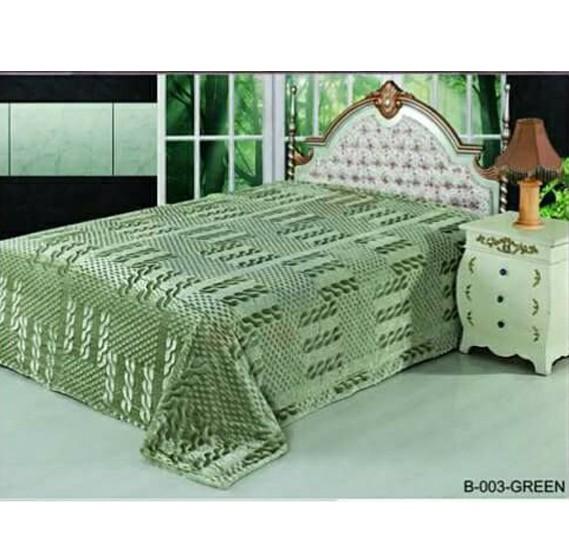 Senoures Classic Blanket Double 220X240CM - B-003 Green
