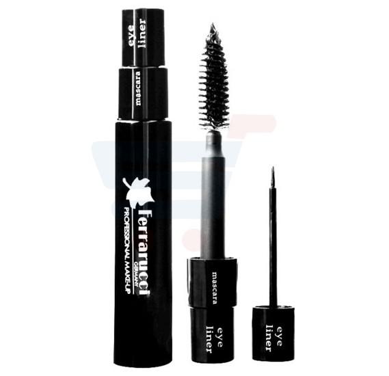 Ferrarucci Mascara and Eyeliner, 2 in 1