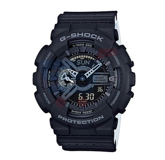 Casio G-Shock Watch For Men, Magnetic Resistant-Black-GA-110LP-1ADR