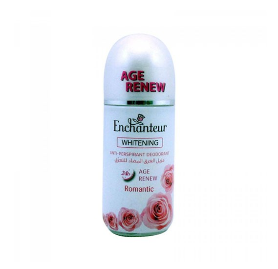Enchanteur Whitening And Age Renew Roll On Romantic 50ml , 2UE0042