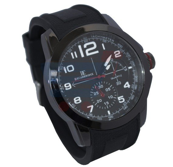 Decambridge Analog Watch For Men Full Black - 7553A