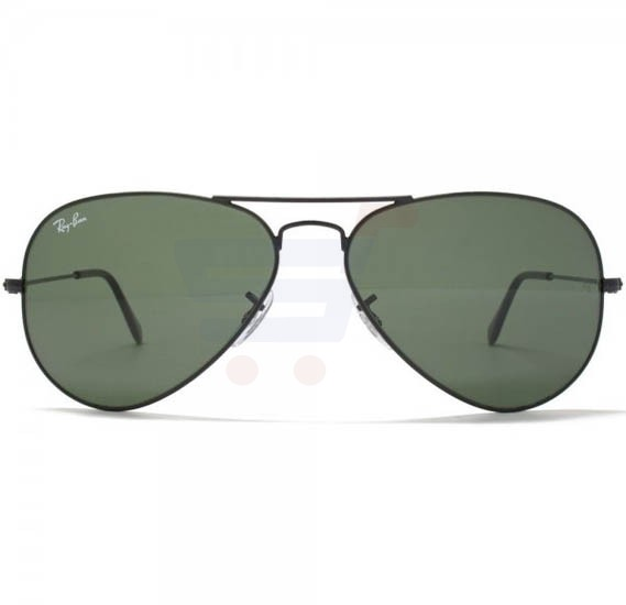 Ray-Ban Pilot Black Frame & Green Classic Mirrored Sunglasses For Unisex - RB3025-L28-23-58