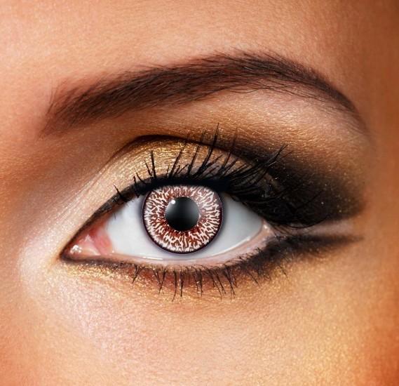 Mystic Chocolate Brown Colour Eye Contact Lense