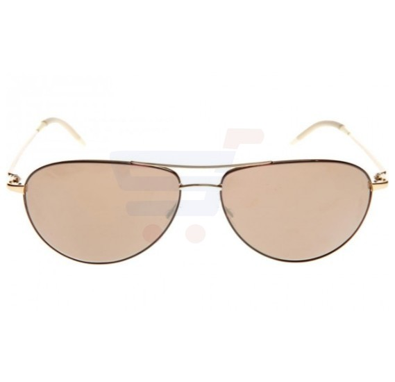 Oliver Peoples Aviator Rose Gold Frame & Rose Gold Tone Mirrored Sunglasses For Unisex - 1002S-5037W4