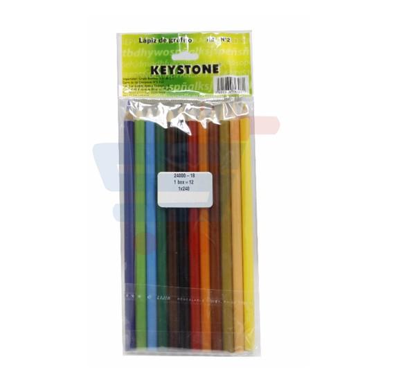 12 piece/OPP Color Pencil 24000-18