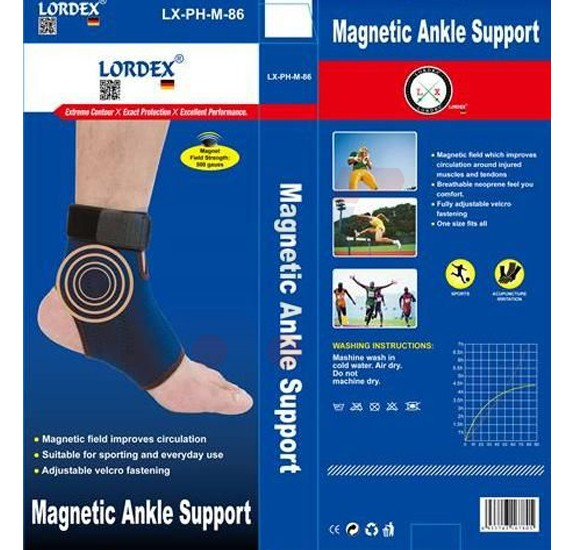 Lordex Magnetic Ankle Support