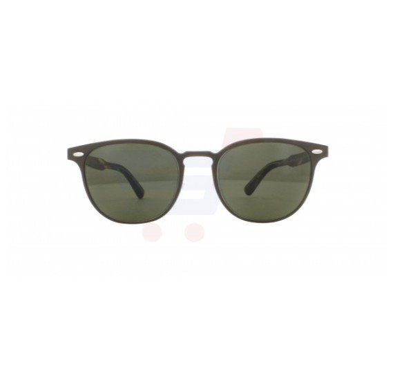 Oliver Peoples Wayfarer Sheldrake Metal Frame & Brown Gradient Mirrored Sunglasses For Unisex - 1179S-5234713N
