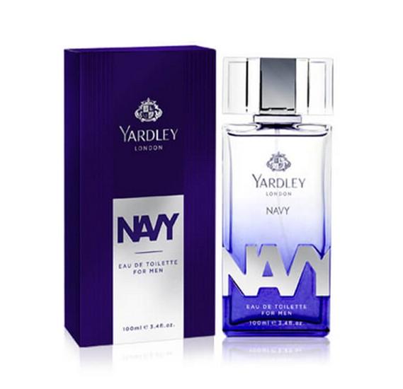 Yardley Navy Eau De Toilette for Men, 100ml