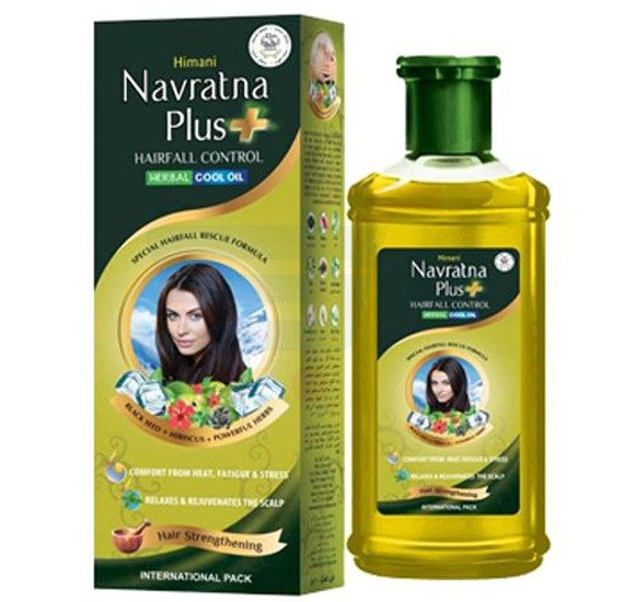 Himani Navratna Plus Ultra Nourish Herbal Cool Oil 200ml