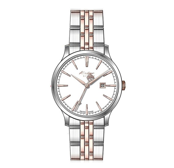 Kolber Les Classiques Stainless Steel Round Analog Ladies Watch K4069231052