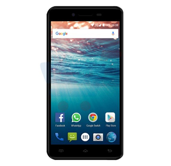Magnus Bravo Z501 Smartphone, Android, 5.0 Inch FWVGA Display, 1GB RAM, 8GB Storage, Dual Camera, Wifi- Black