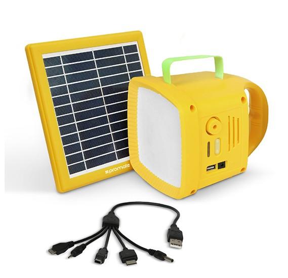 Buy Promate Solar Panel Led Light Online Dubai Uae