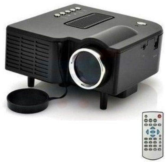 BSNL A8 Mini Projector, HDMI, AV, USB, SD Card Slot Black