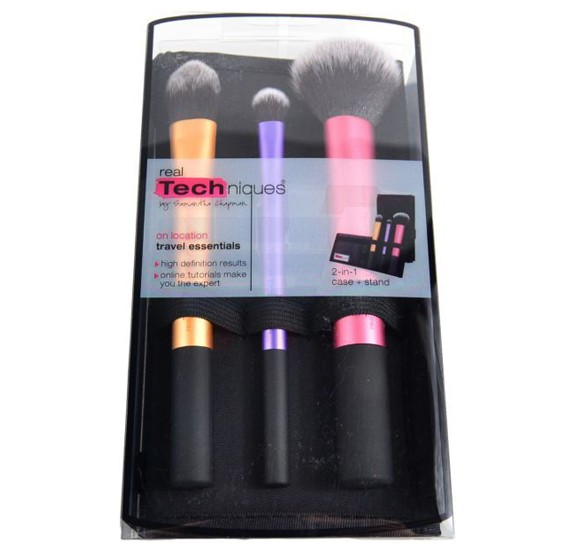 Real Techniques Travel Essentials Makeup Brush Set