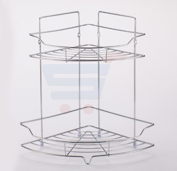 RoyalFord 2 Layer Corner Rack - RF8574