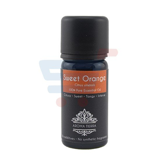 Aroma Tierra Sweet Orange 100% Pure Essential Oil 10ml,62947ES035010