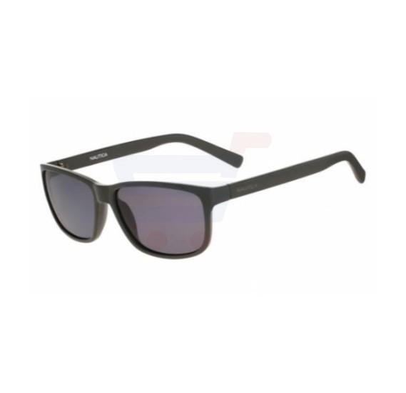 Nautica Rectangular Frame & Grey Gradient Mirrored Sunglasses For Unisex - N3611SP-318